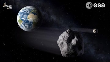 Mile-Wide Asteroid with Own Moon to Fly By Earth This Week