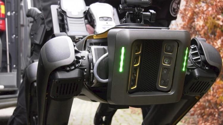 Police Employ 'Robodog' as Vanguard Drug Lab Investigator