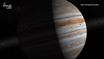 Jupiter Was Once Four Times Farther Away from the Sun Than It Is Today