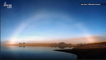The Science Behind These Stunning 'White Rainbows'