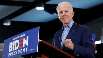 Biden declares himself back in race after 2nd place Nevada finish