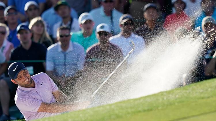 Francesco Molinari, Masters Golf Saturday