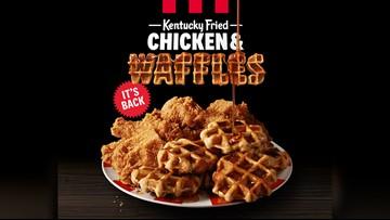 KFC is bringing back Chicken & Waffles already