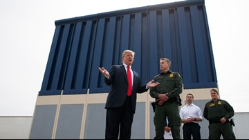 Trump criticizes California over lawsuit against border wall