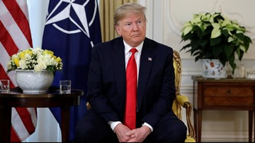 'Very nasty': Trump says French president insulted NATO
