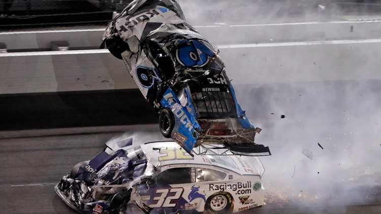 Ryan Newman in 'serious condition' after violent crash on last lap of Daytona 500