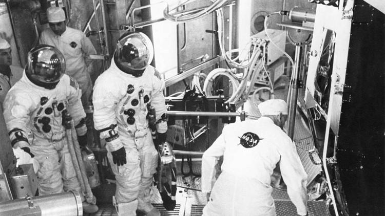 Lovell Haise Apollo 11 test