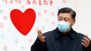 China's president: epidemic 'grim,' calls for economic action