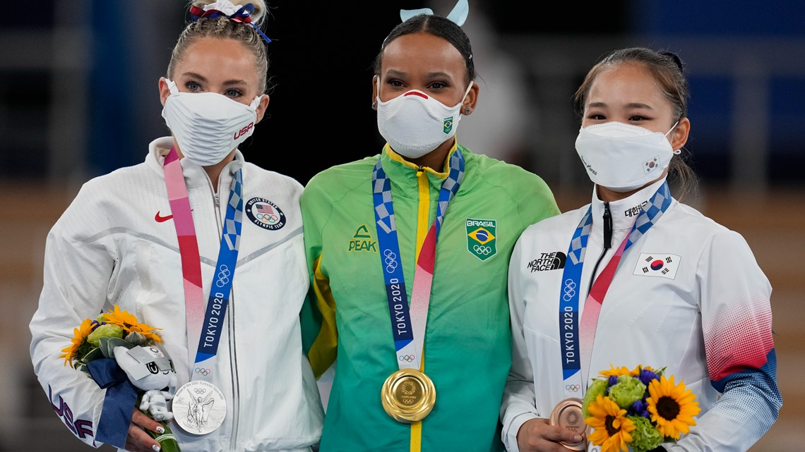 MyKayla Skinner Wins Silver Medal in Vault Finals at Tokyo Olympics After Simone Biles' Withdrawal