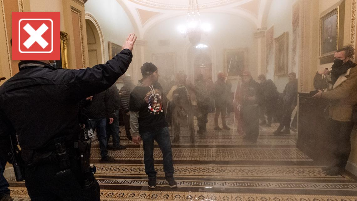 No, the U.S. Capitol rioters can't be charged with domestic terrorism for Jan. 6 insurrection