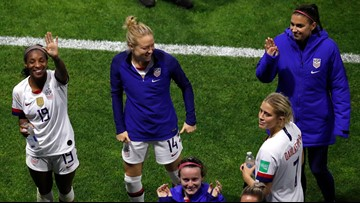 US beats rival Sweden, gets Spain in World Cup round of 16