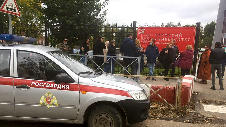 8 dead in shooting at Russian university