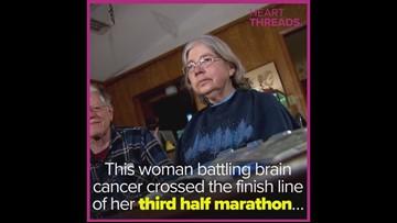 Family runs race for woman battling brain cancer