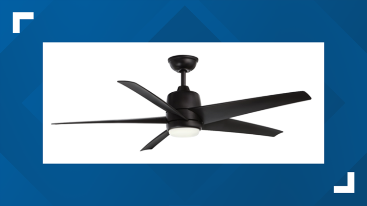 More than 190,000 ceiling fans recalled after blades fly off