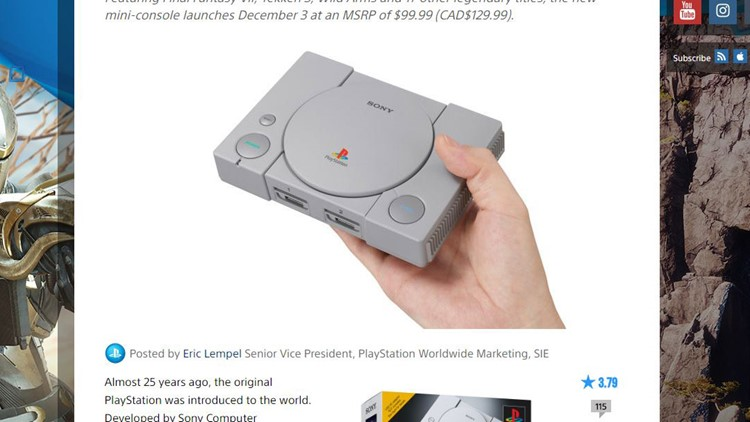Guide: How to Buy and Pre-Order the PlayStation Classic Mini Console