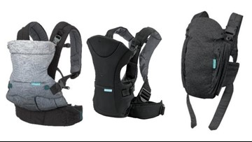 Thousands of infant carriers recalled because their buckles could break