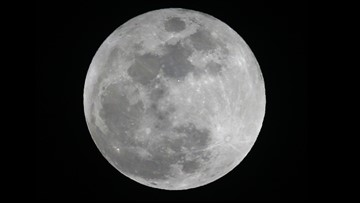 Super snow moon overnight, but no need to wake up early