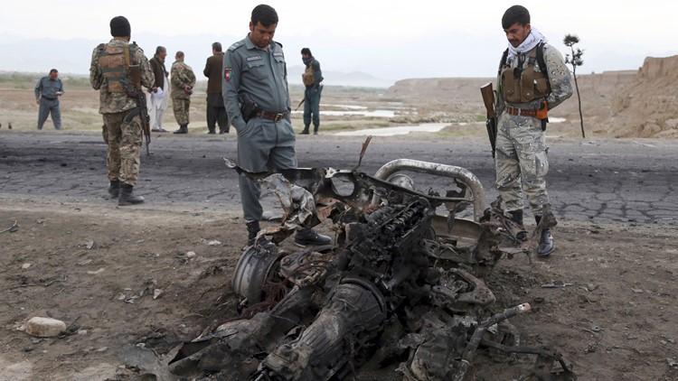 Afghanistan attack US Troops April 9 AP
