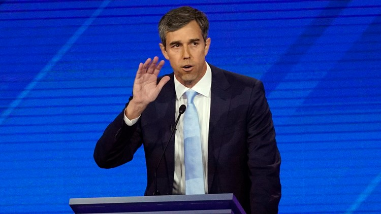 Election 2020 Debate Beto O'Rourke