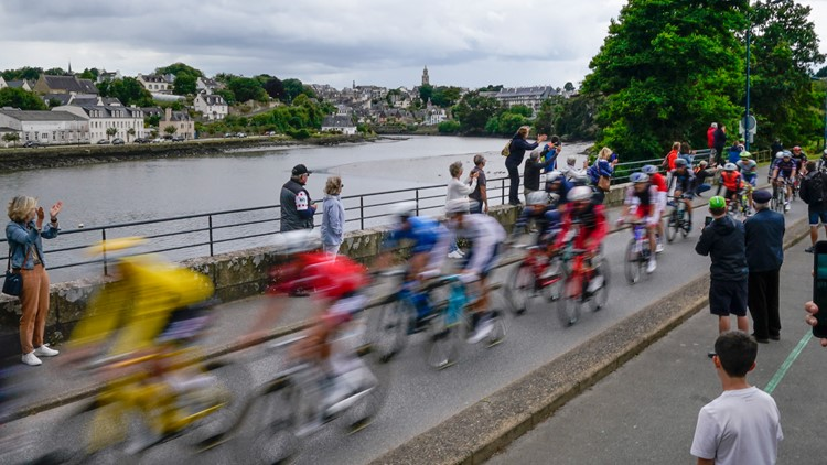 Olympic road races yield early drama for delayed Tokyo Games