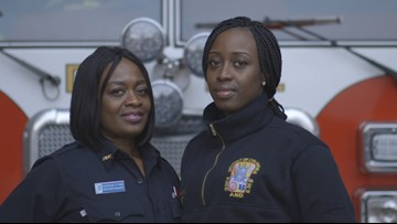 Mother-daughter duo breaks stereotypes about women in firefighting