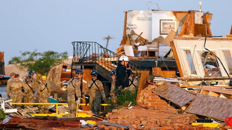 Oklahoma severe Weather May 26 AP