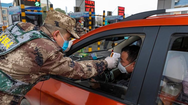 China Outbreak coronavirus AP