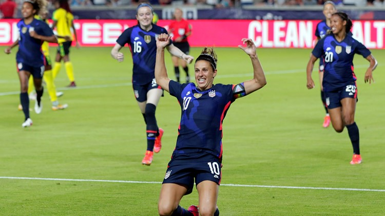 US women's soccer looks to make history at Olympics