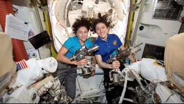 WATCH LIVE: NASA conducts first all-female spacewalk