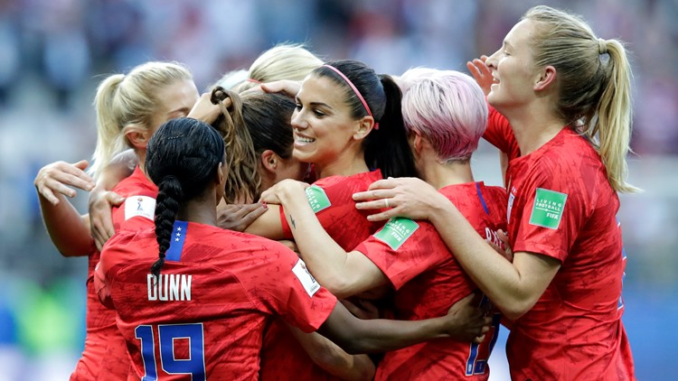 US Women's soccer has record-breaking game to kick off World Cup defense