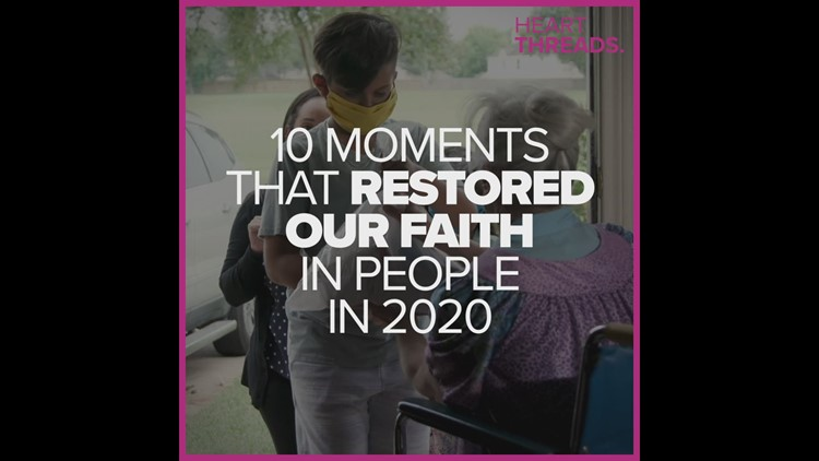 People who restored our faith in humanity in 2020