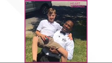 School resource officer befriends student with special needs