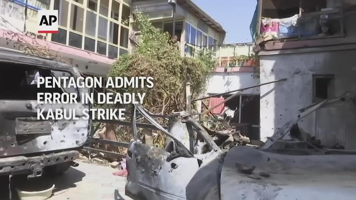 Pentagon calls deadly Kabul strike an error