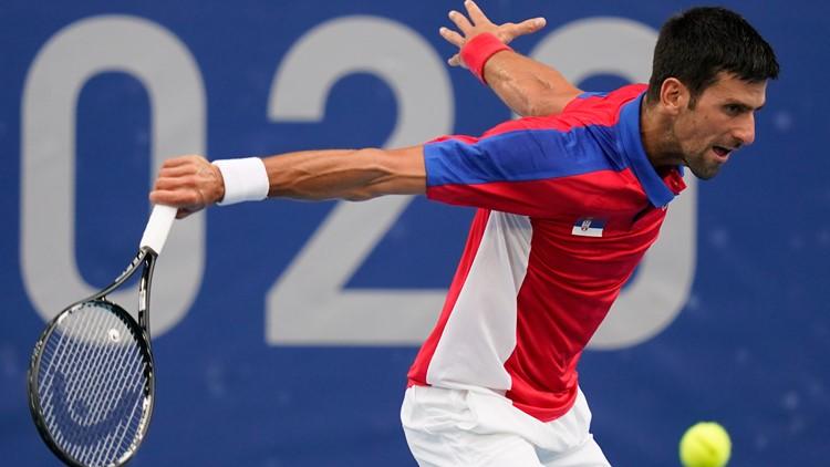 Djokovic's temper flares up in bronze medal match loss