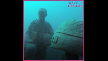 Florida scuba company creates underwater veterans memorial