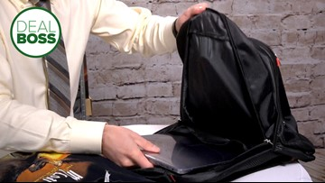 Use this backpack to avoid baggage fees