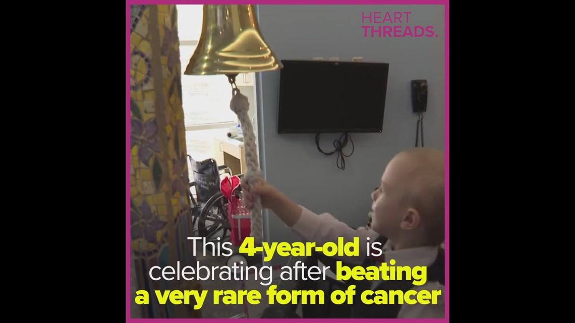 4-year-old survives cancer battle