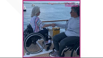 Woman creates wheelchair-accessible sailboat for herself and others