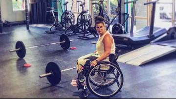 Cancer survivor with cerebral palsy runs CrossFit gym