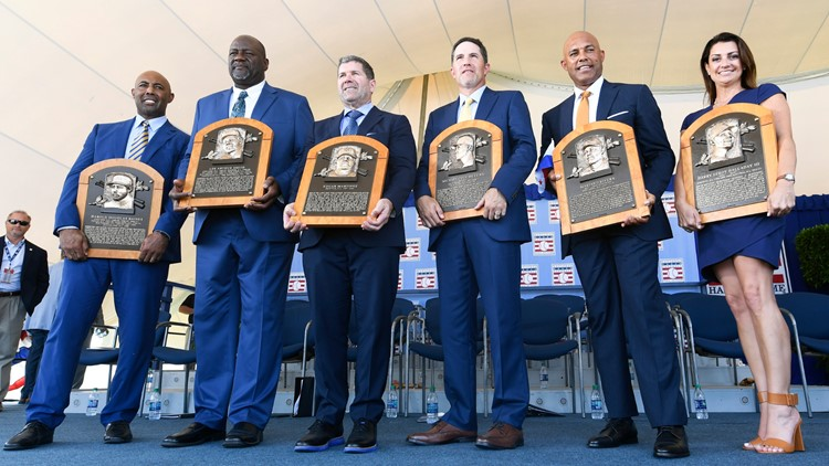 Hall of Fame Inductions Baseball