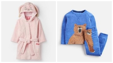 Joules kids' pajamas, robes recalled for flammability hazard