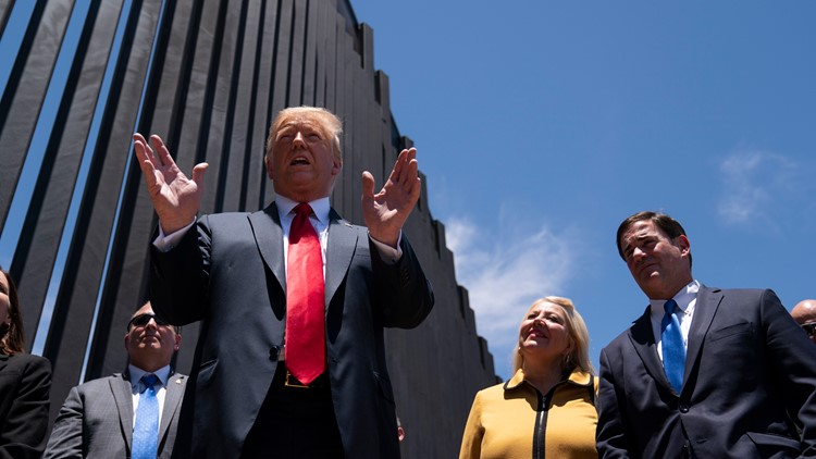 Appeals court: Trump illegally diverted $2.5 billion from military for border wall
