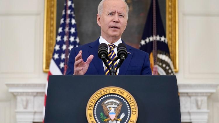 President Biden promotes milestone of 300M vaccine shots in 150 days