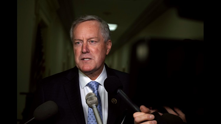 Mark Meadows out of race for Donald Trump's new chief of staff