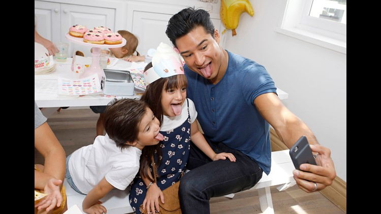 In a moment of unfiltered truth, Mario Lopez's kids told a reporter on the red carpet about something embarrassing dad does when they play.