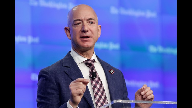 Jeff Bezos says Trump is wrong to 'demonize the media'