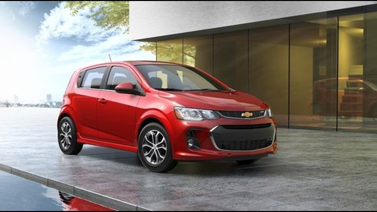 GM to stop production of Chevrolet Sonic Subcompact car