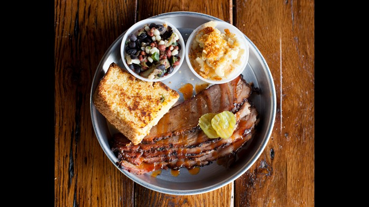 Celebrate National Barbecue Day outside without smoking meat yourself at these restaurants' patios and yards.