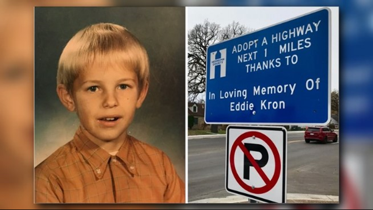'Adopt A Highway' sign opens doors for grieving family