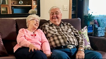 Great-grandmother weds suitor 64 years after broken engagement